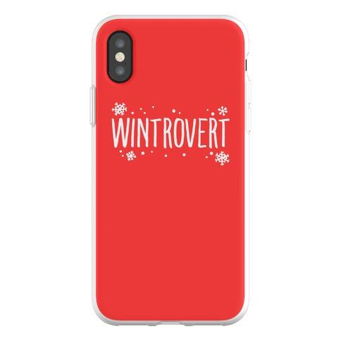Wintrovert Phone Flexi-Case