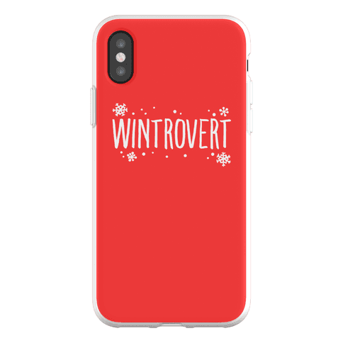 Wintrovert Phone Flexi-Case