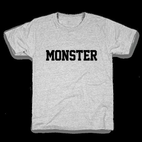 Monster Text Kids T-Shirt