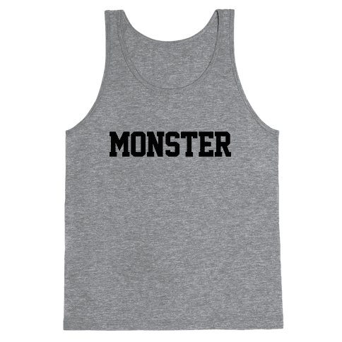 Monster Text Tank Top