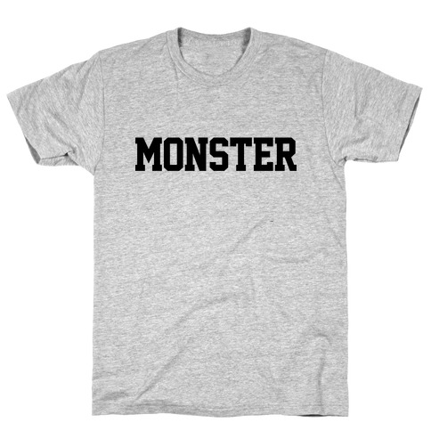 Monster Text T-Shirt