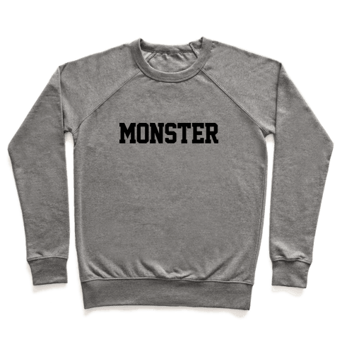 Monster Text Pullover