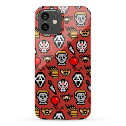 Slashers Pixel Pattern Phone Case