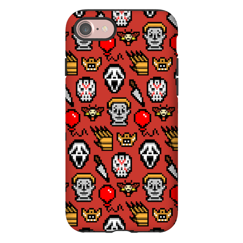 Slashers Pixel Pattern Phone Case