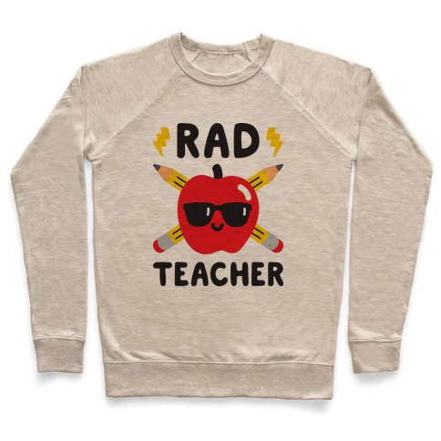 Rad Teacher Pullover