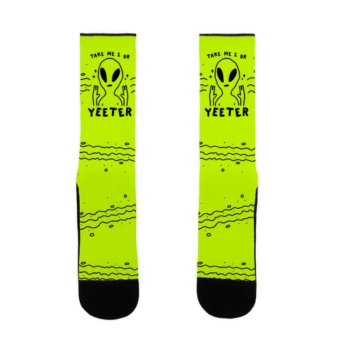 Take Me to Your Yeeter Sock