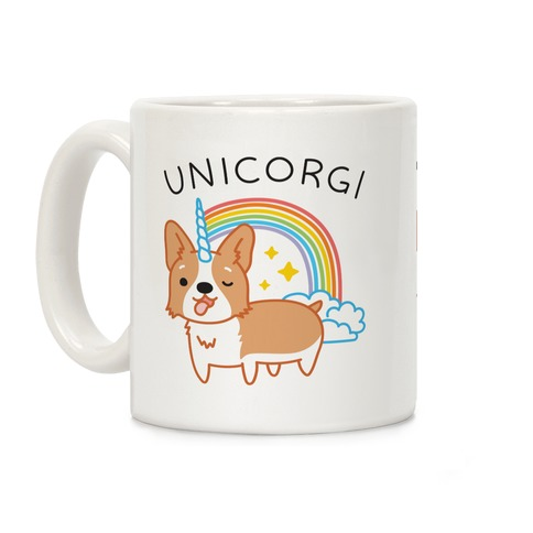 Unicorgi Corgi Unicorn Coffee Mug