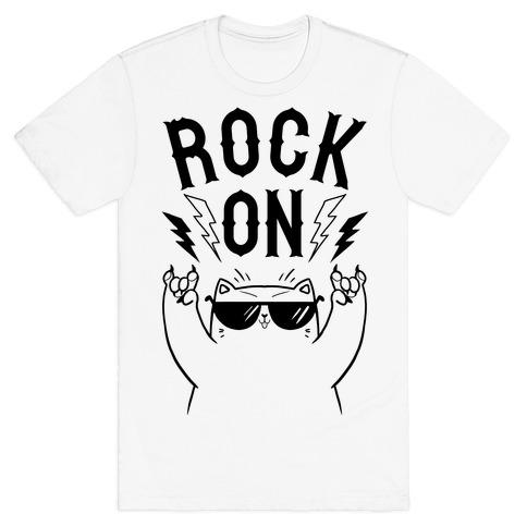 Rock On Cat T-Shirt