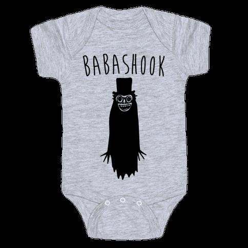 Babashook Parody Baby Onesy