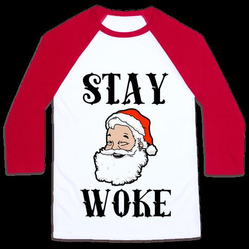Stay Woke Santa