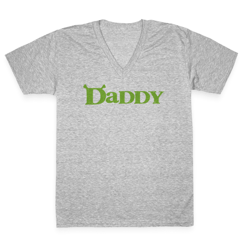 Daddy V-Neck Tee Shirt