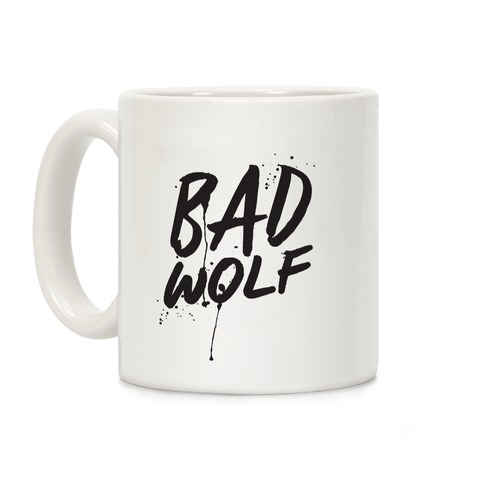 Doctor Who Bad Wolf Coffee Mug