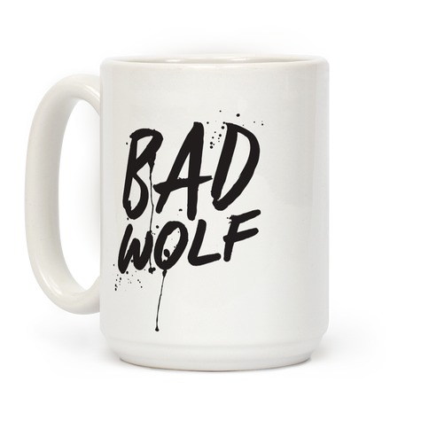 Doctor Who Bad Wolf Coffee Mug
