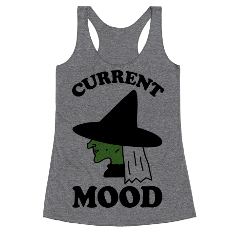 Current Mood Witch Racerback Tank Top