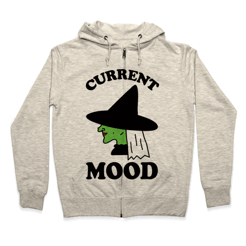 Current Mood Witch Zip Hoodie