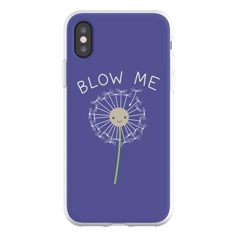 Blow Me Dandelion Phone Flexi-Case