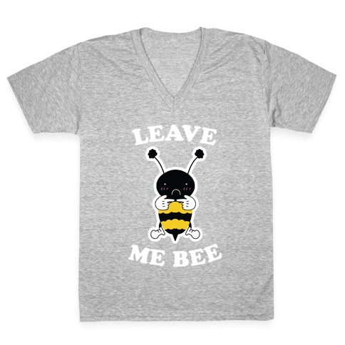 Leave Me Bee V-Neck Tee Shirt