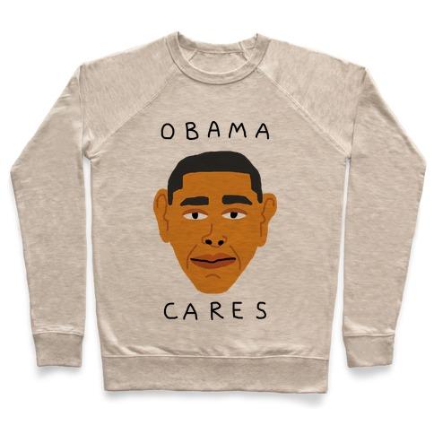 Obama Cares Pullover