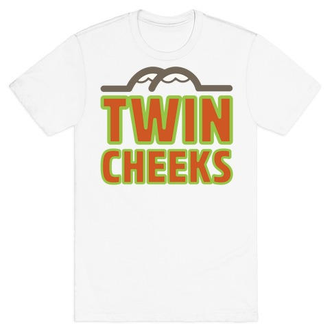 Twin Cheeks Parody T-Shirt