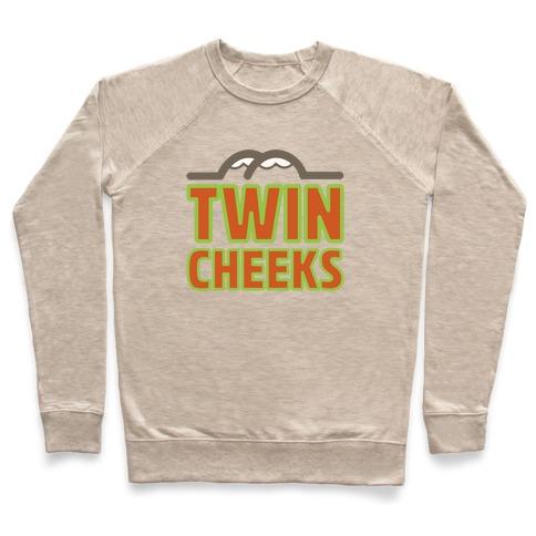 Twin Cheeks Parody Pullover