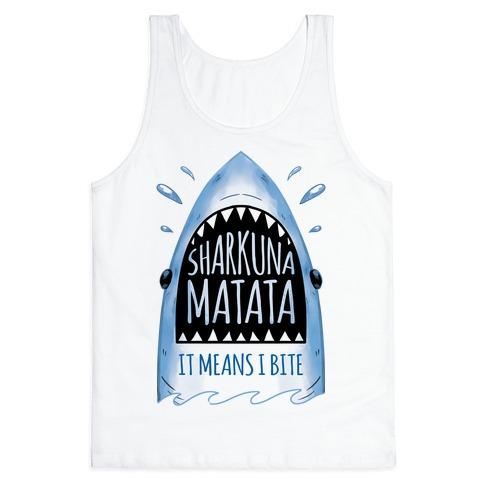 Sharkuna Matata Tank Top