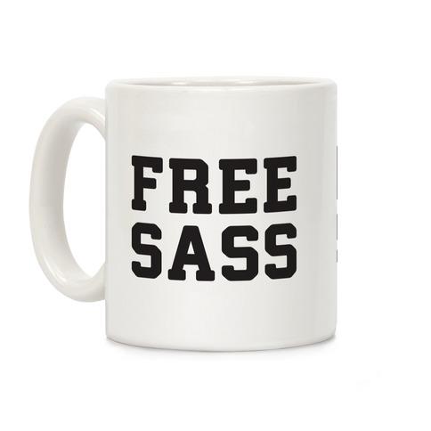 Free Sass Coffee Mug