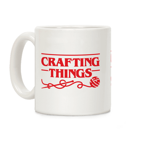 Crafting Things Parody Coffee Mug