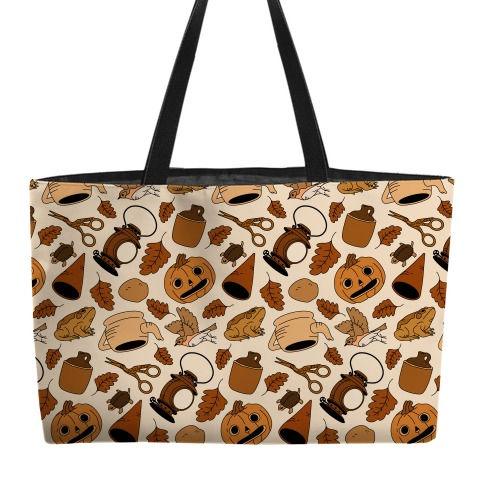 Into the Unknown Pattern Weekender Tote