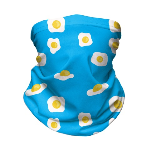Egg Pattern Neck Gaiter