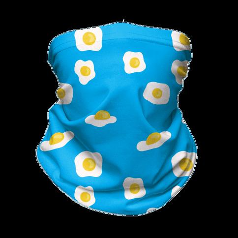 Egg Pattern Neck Gaiter