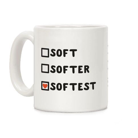 Soft Softer Softest Check list Coffee Mug