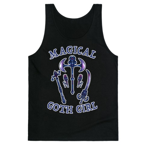 Magical Goth Girl Tank Top