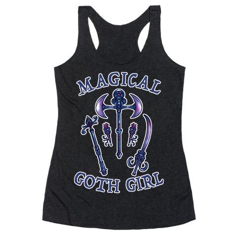 Magical Goth Girl Racerback Tank Top