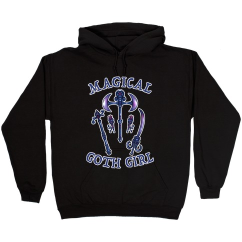 Magical Goth Girl Hooded Sweatshirt