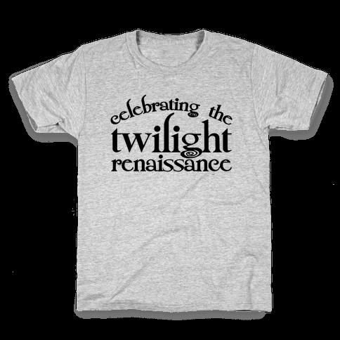 Celebrating The Twilight Renaissance Parody Kids T-Shirt