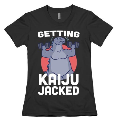 Getting Kaiju-Jacked Womens T-Shirt