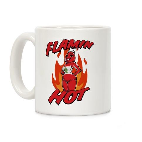 Flamin' Hot Sexy Hot Sauce Coffee Mug