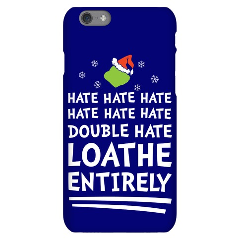 Loathe Entirely Phone Case