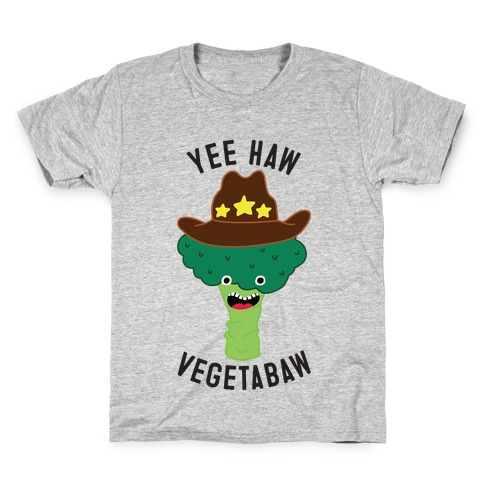 Broccoli Cowboy Kids T-Shirt