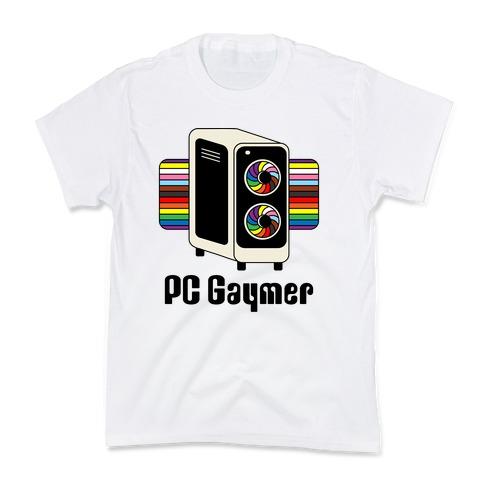 PC Gaymer Kids T-Shirt
