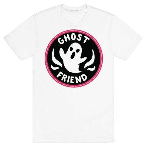 Ghost Friend Culture Merit Badge T-Shirt