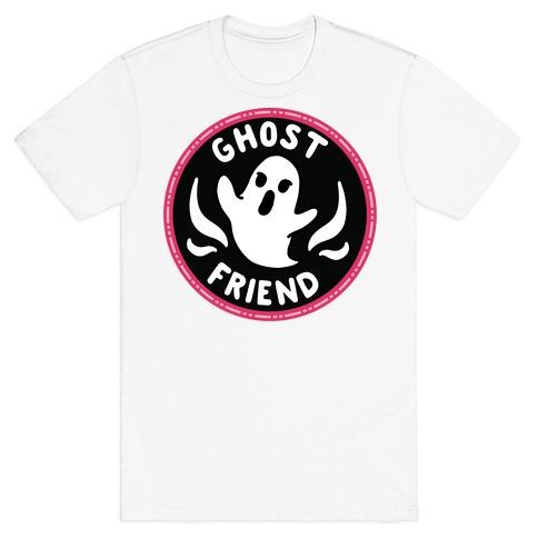 Ghost Friend Culture Merit Badge T-Shirt
