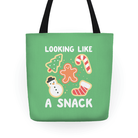 Looking Like A Snack Christmas Cookies Tote