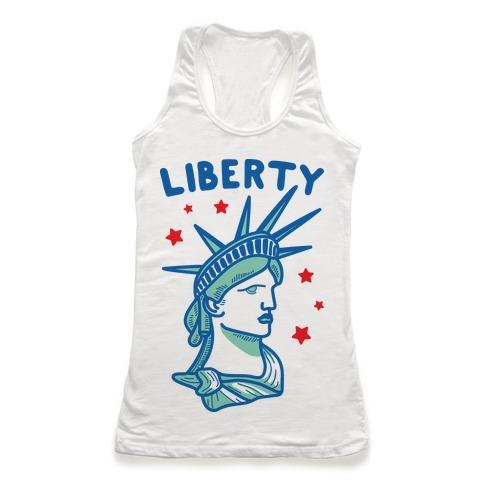 Liberty & Justice 1 Racerback Tank Top