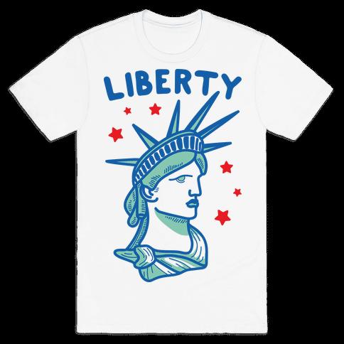 Liberty & Justice 1 Mens T-Shirt