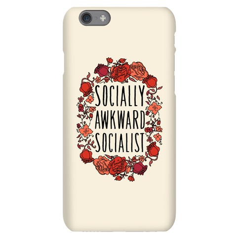 Socially Awkward Socialist Phone Case