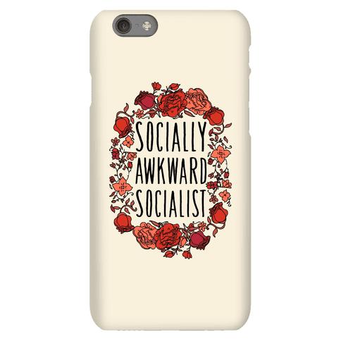 Socially Awkward Socialist Phone Case