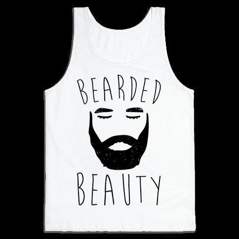 Bearded Beauty  Tank Top