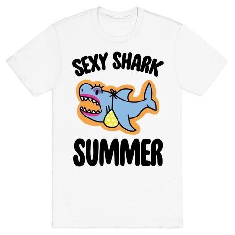 Sexy Shark Summer T-Shirt