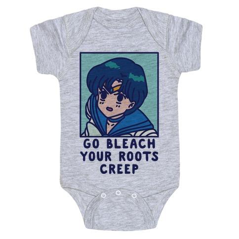 Go Bleach Your Roots Creep Sailor Mercury Baby Onesy